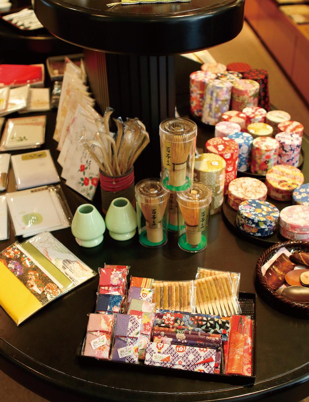 博物館內販售各種與茶相關的周邊商品,種類齊全, 愛茶人千萬不要錯過。
