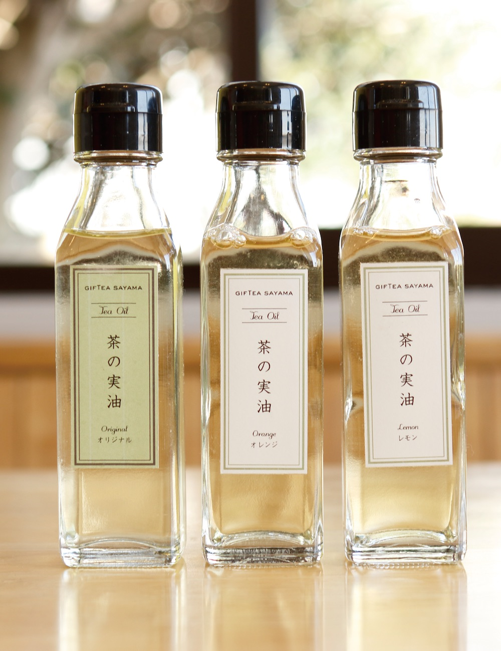 น้ำมันชาซึ่งได้จากผลชานั้นนำมาใช้บำรุงผิวพรรณได้