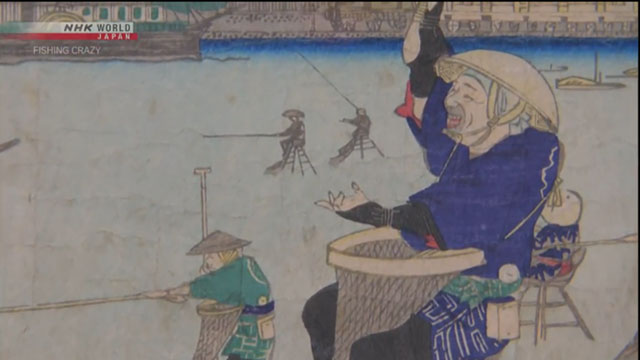 Tokyo used to be a maze of waterways, and fishing was a natural pastime of the population