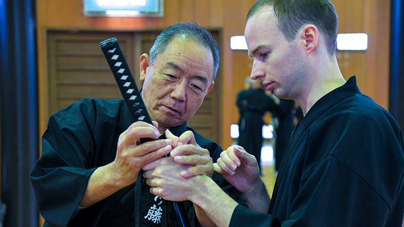 The unforgettable Iaido Original Experience