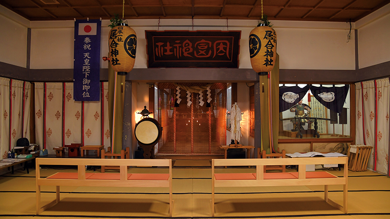 Hayashizaki Iai Shrine is regarded as a sacred place for samurais around Japan