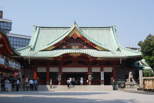 The Kanda Myojin Shrine