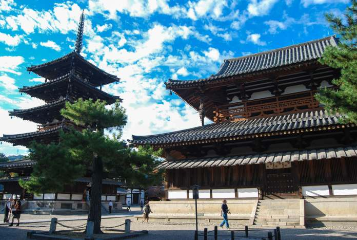 Japan S World Heritage Site Buddhist Monuments In Horyuji Wattention Com