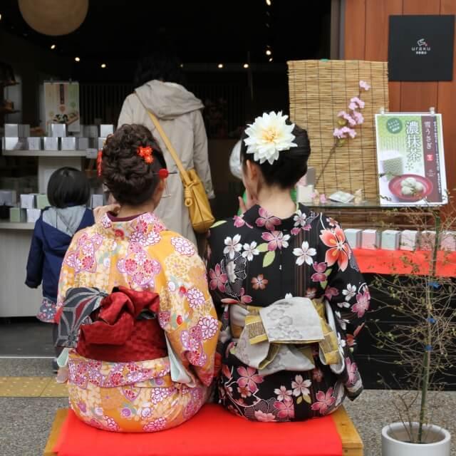 simple kimono obi knots