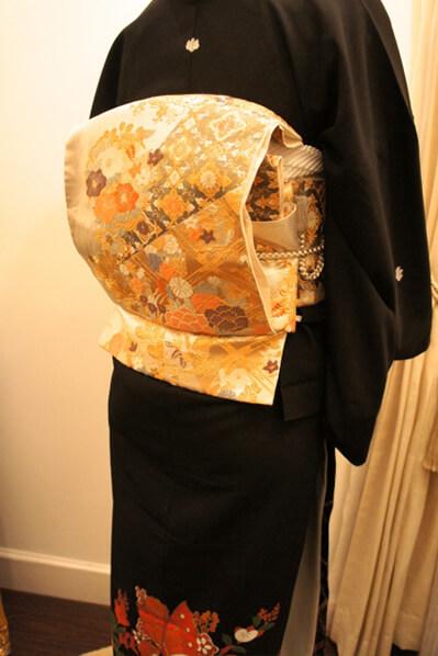 Tomesode Kimono