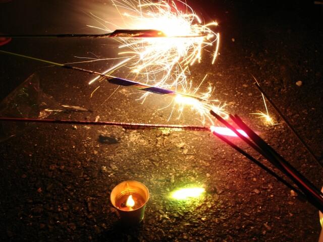 Japanese Matsuri Fun: Fireworks