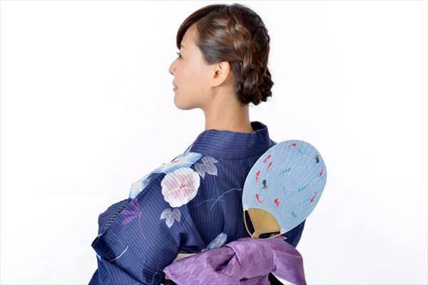 Japanese Matsuri Festival Outfit: Uchiwa and Sensu