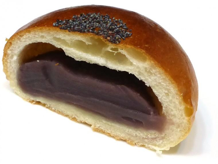 unique Japanese anpan bread