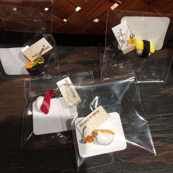 sushi earing1