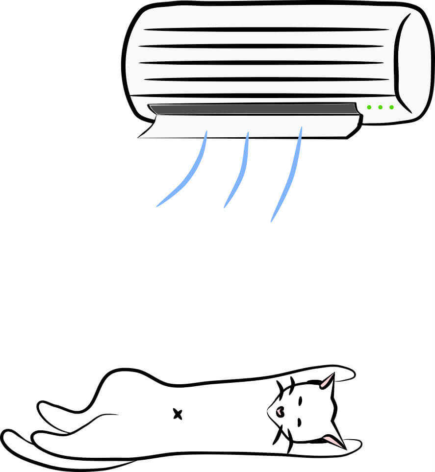 Japanese summer survival air conditioning
