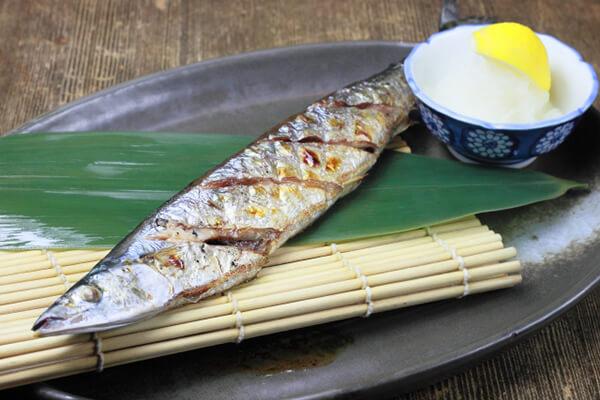 Japanese Sanma Autumn Fish