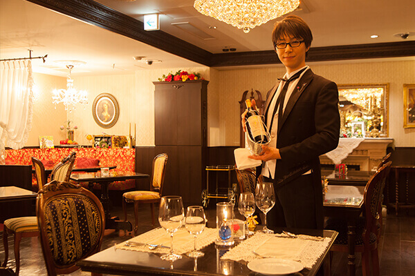 butler in butler cafe ikebukuro tokyo