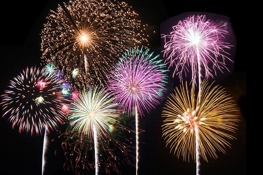 fireworks festival summer japan
