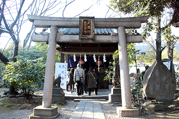 Mimeguri-Shrine