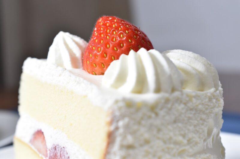 Christmas strawberry shortcake in Japan