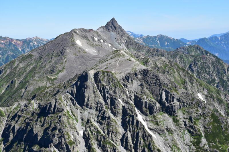 Fifth Highest Mountain in Japan