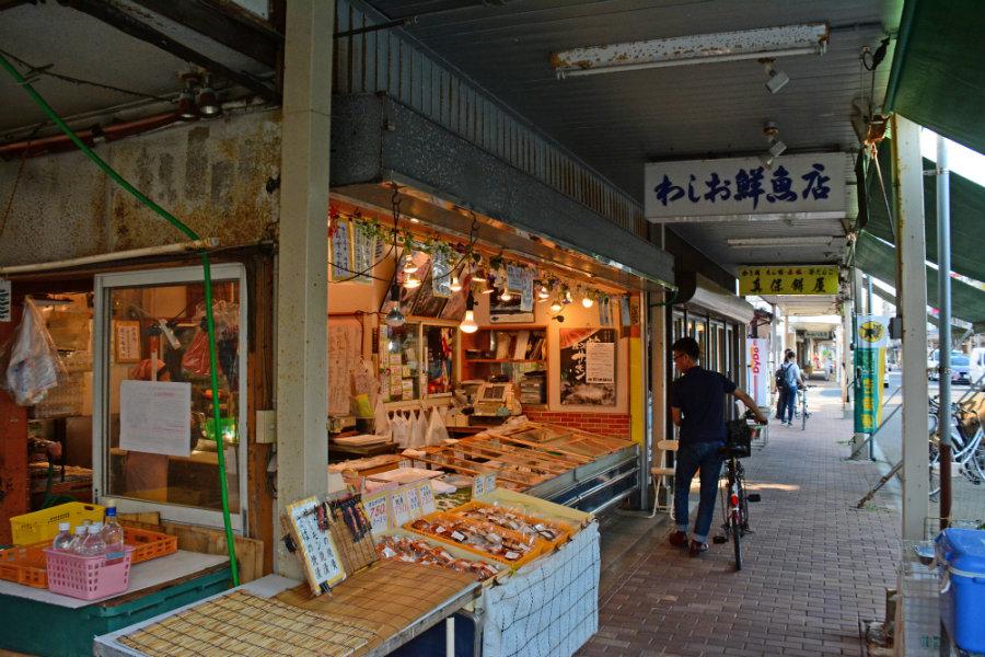 Honchoshimo market Niigata