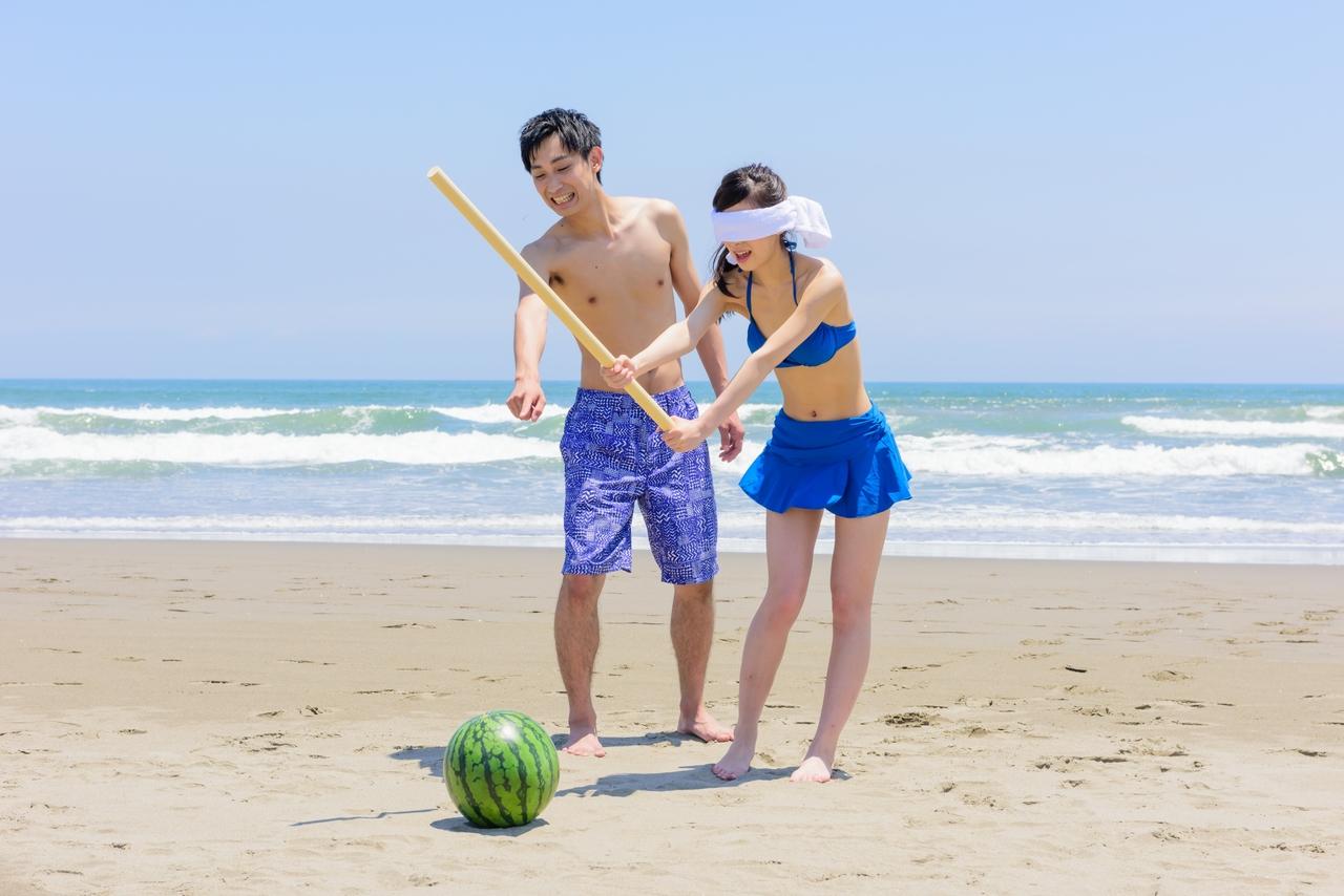 Suikawari Smashing Watermelon in Japan