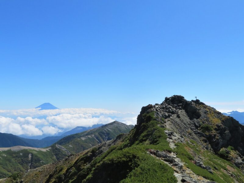 Forth Highest Mountain in Japan