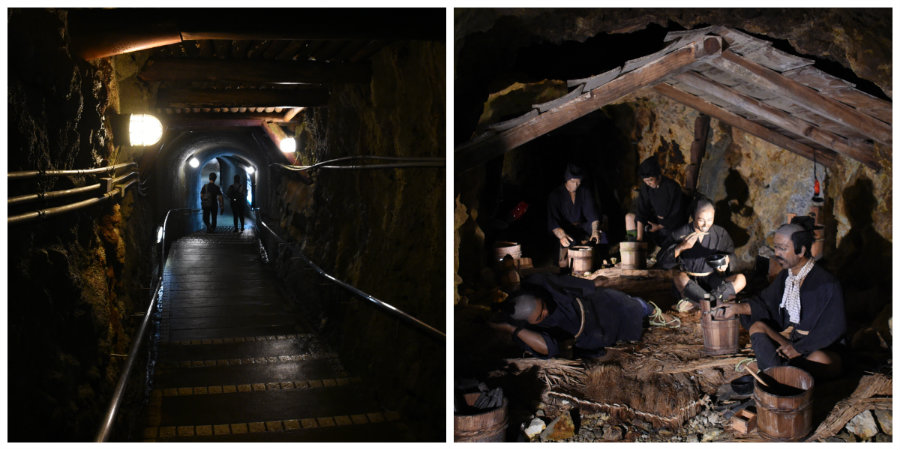 inside the goldmines in niigata