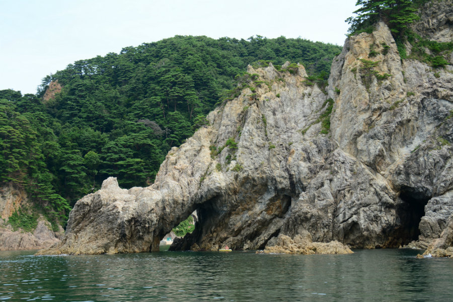 sasagawa nagare unique rocks and reefs