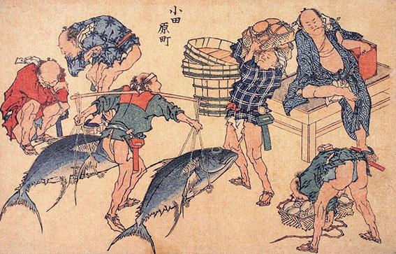 Hokusai Fishermen