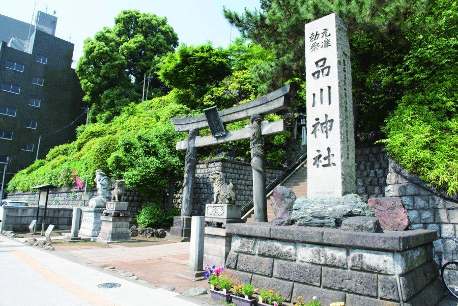 Shinagawa Shrine Gate