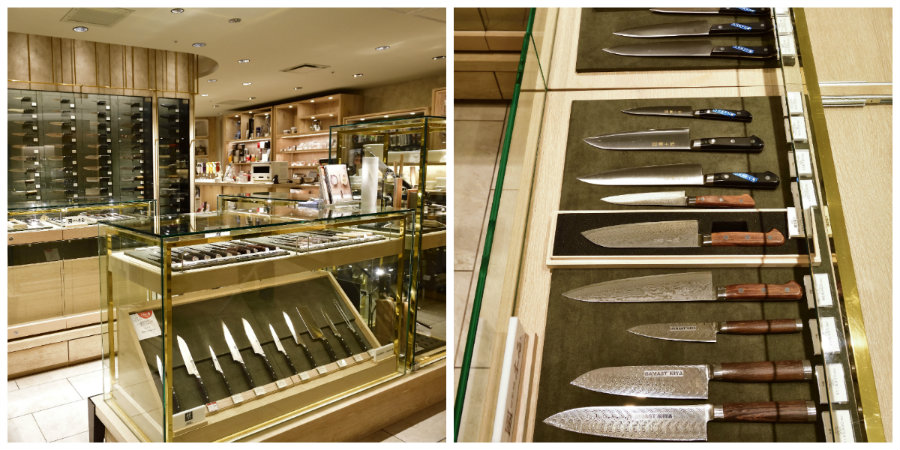 isetan kitchen knives shop