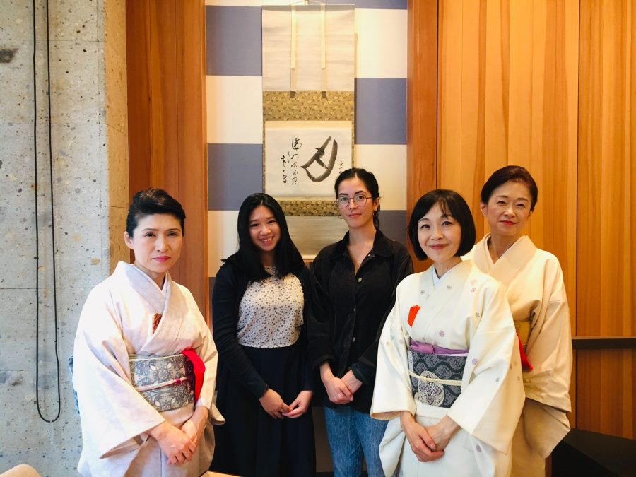 tea ceremony group