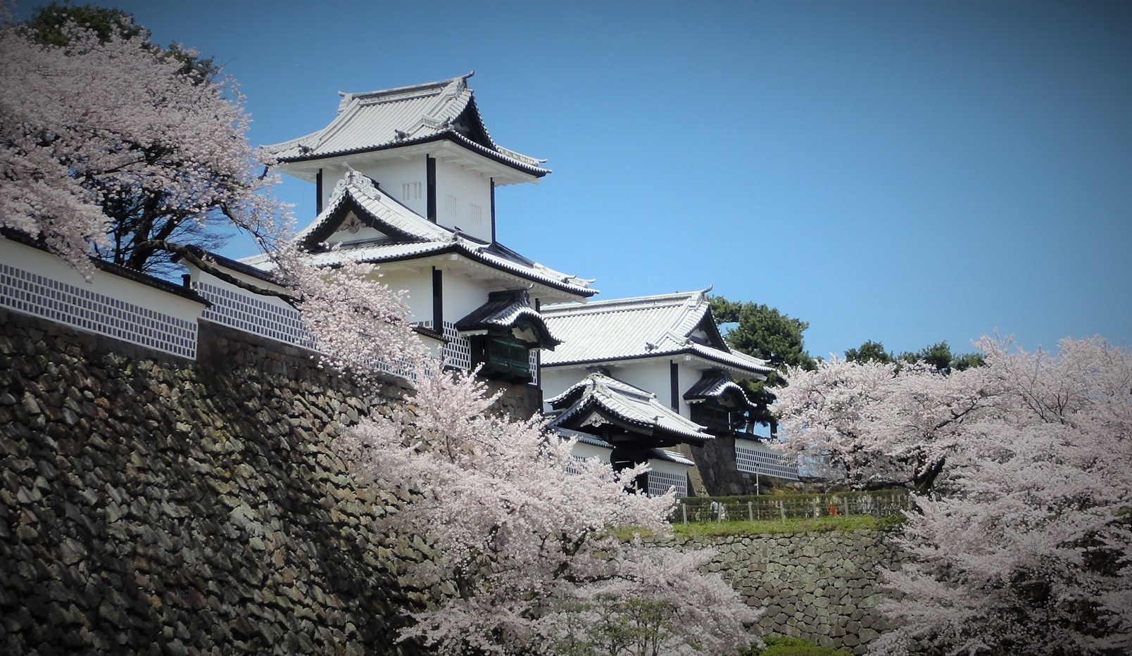 Kanazawa castle town in Japan