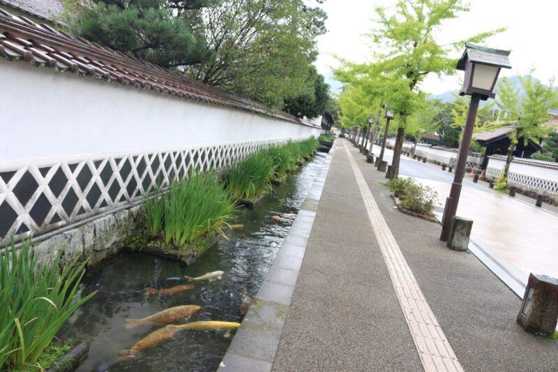 Shimane Castle Town in Japan