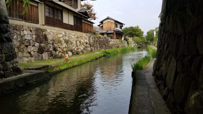 Omihachiman Castle Town in Japan