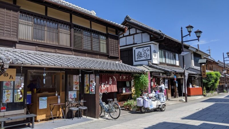 Kawagoe Castle Town in Japan