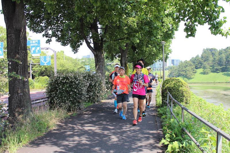 Run with OMOTENASHI runners!