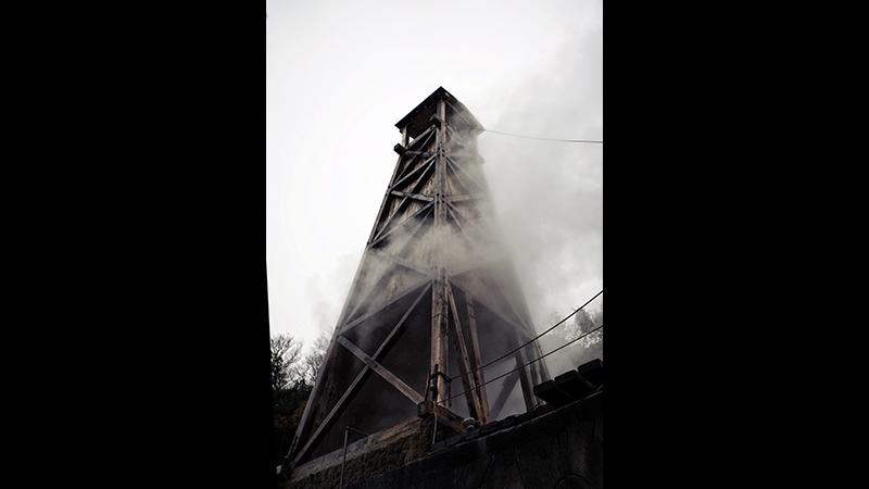 Higashi-Izu: Japan's forgotten paradise - An old wooden drilling tower : Onsen