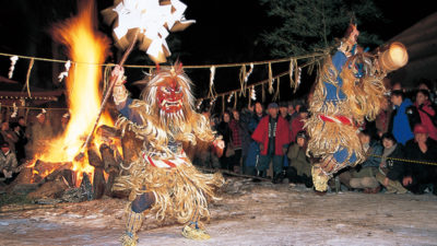 "Meet the Folk Ritual ""Namahage"", Demon -like Deity"
