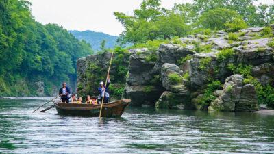 Summer:Nagatoro River Boat Ride