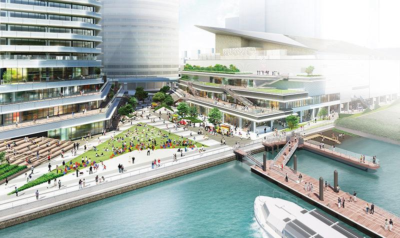 New Tokyo Reborn - WATERS Takeshiba