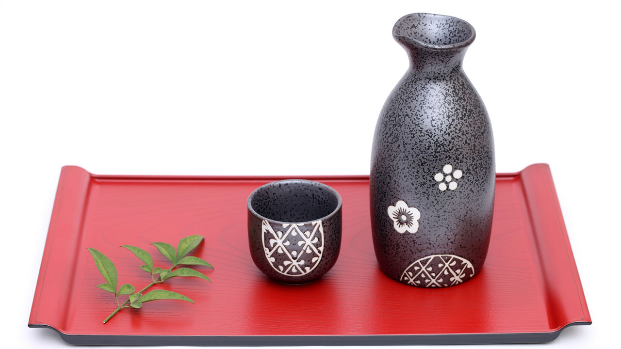 Earthenware Traditional Sake Cup
