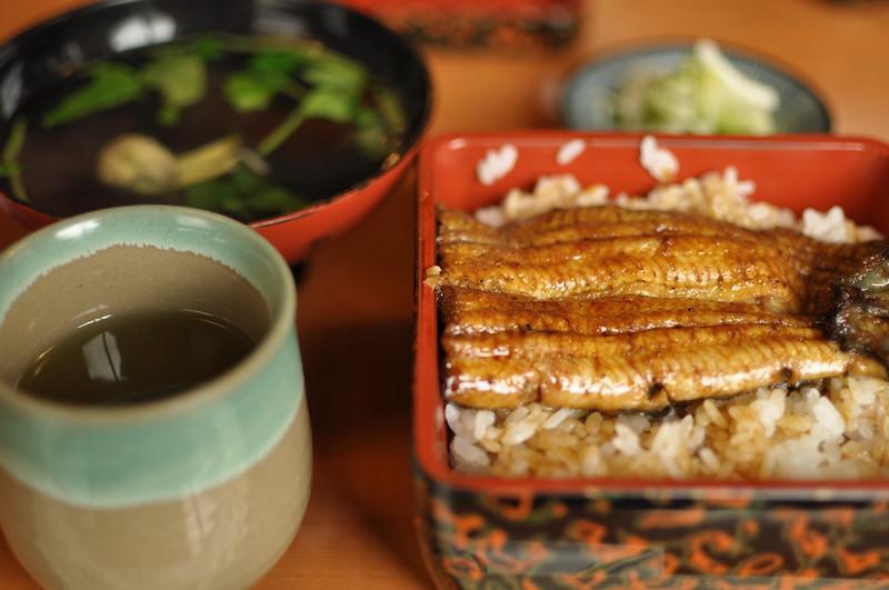 Japanese traditional dish unagi