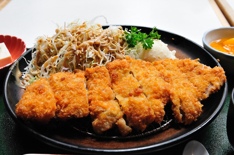 Japanese traditional dish tonkatsu