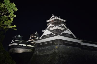 Kumamoto Castle Light