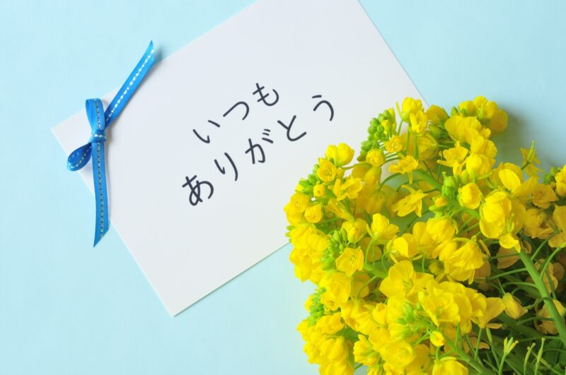 Thank you in Japanese Arigatou