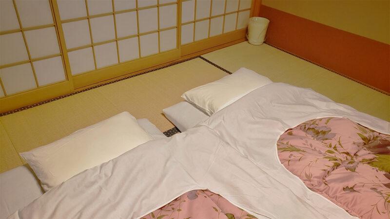 minshuku futon bed