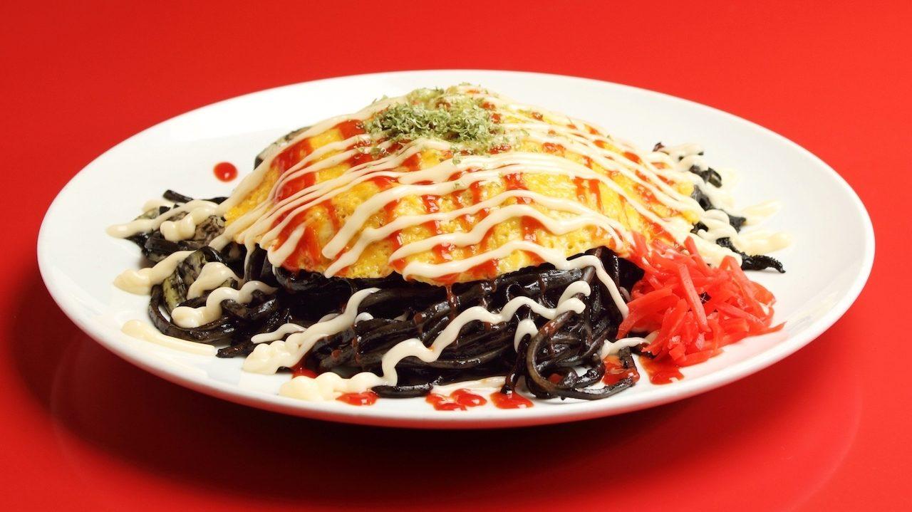 Itoigawa stir-fried black noodles
