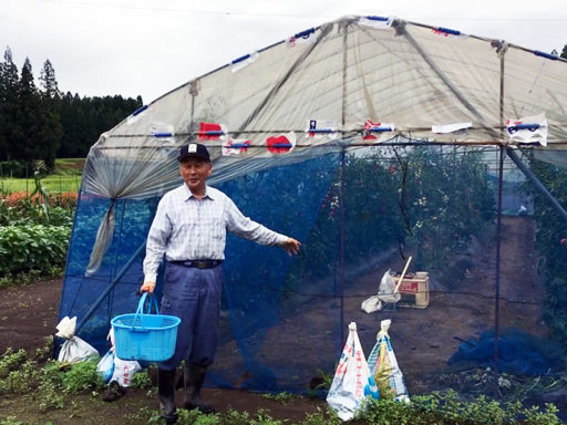 Photo 10 Mr Ishizuka on farm (800)