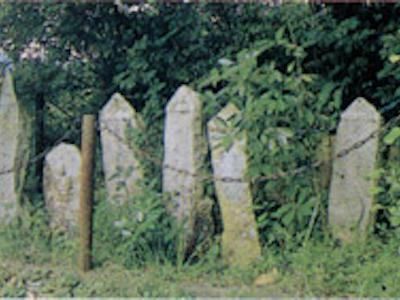 K.The Stele with Diamon inscription of thirteen Buddhist Deities in Shiodani